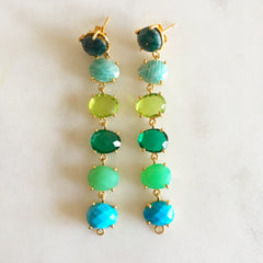 Chameleon Earring - Green