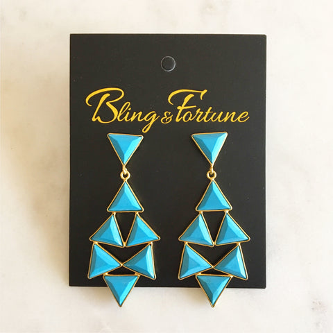 Countess Earring - Turquoise