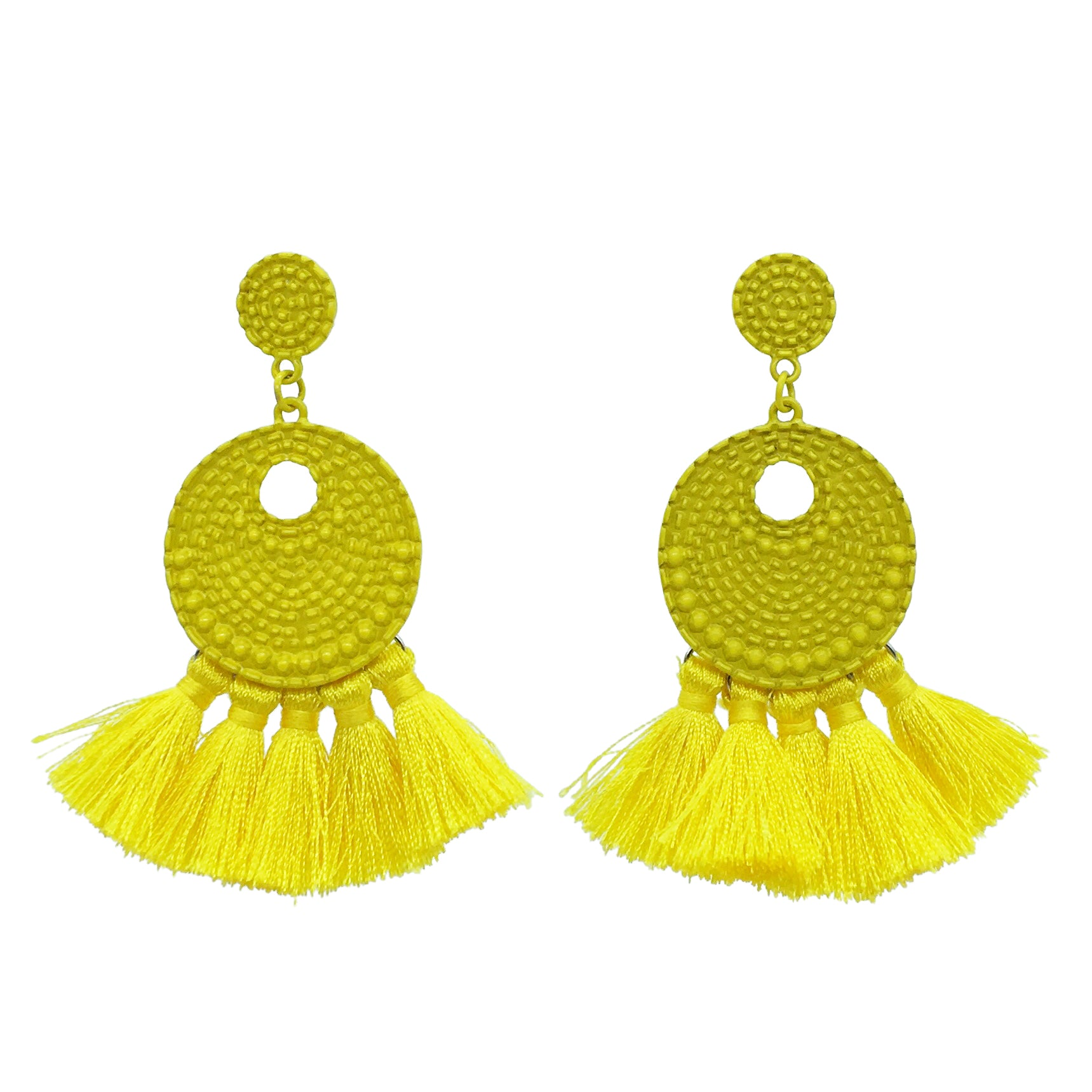 Mimi tassel Earring - Yellow
