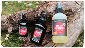 Hand Sanitizers from Biggs & Featherbelle®