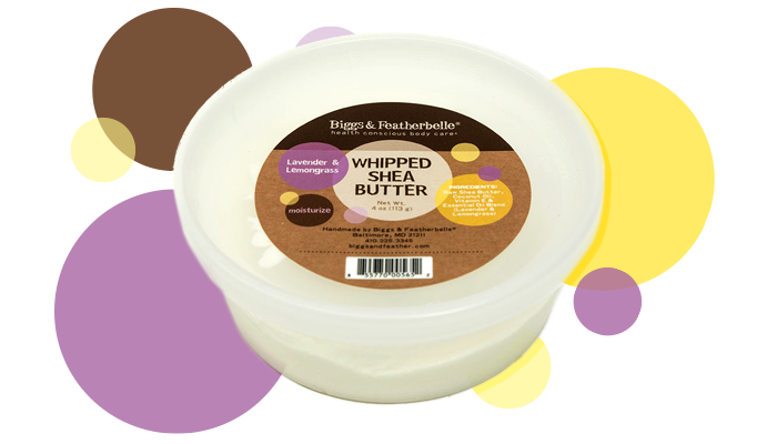 Lavender & Lemongrass Whipped Shea Butter - Heavy duty self-care