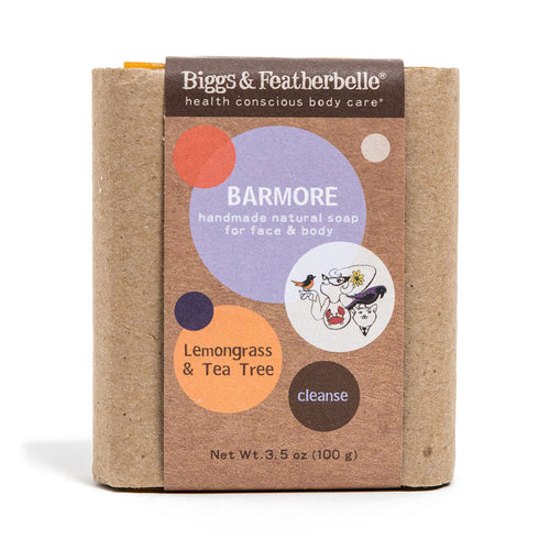 BARMORE handmade natural soap from Biggs & Featherbelle®