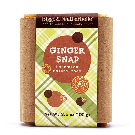 GINGER SNAP Bar Soap by Biggs & Featherbelle®
