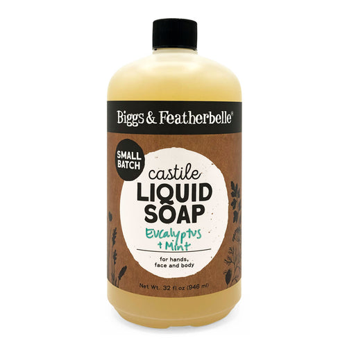 32oz Eucalyptus & Mint Liquid Soap from Biggs & Featherbelle®