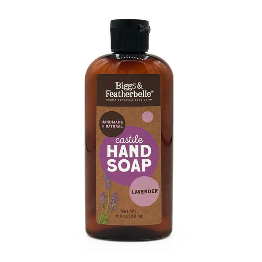 4oz Lavender Liquid Soap from Biggs & Featherbelle®