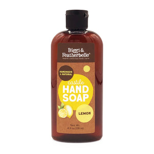 4oz LEMON Liquid Soap by Biggs & Featherbelle®