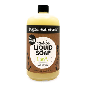 32oz Lime Liquid Soap from Biggs & Featherbelle®