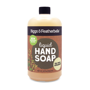 TEA TREE & SPEARMINT Liquid Soap by Biggs and Featherbelle®