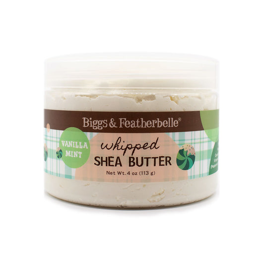 VANILLA MINT Whipped Shea Butter by Biggs & Featherbelle®