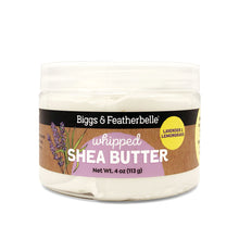 Lavender & Lemongrass Whipped Shea Butter from Biggs & Featherbelle®