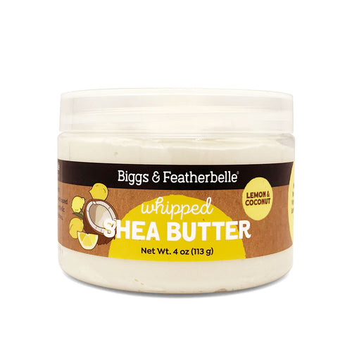 Lemon & Coconut Whipped Shea Butter by Biggs & Featherbelle®