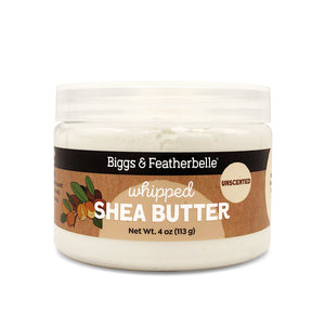 Unscented Whipped Shea Butter by Biggs & Featherbelle®
