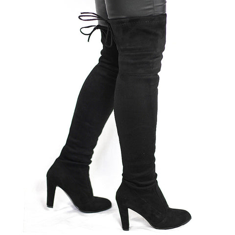 Stretch Sexy High women Boot