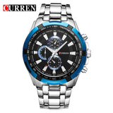 Luxury Casual stainless steel men Watch