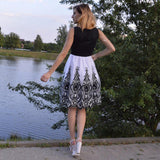black & white elegant women dress ! wow