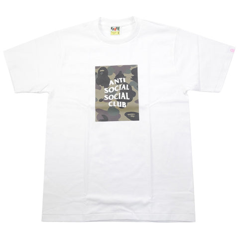 A BATHING APE  Anti Social Social Club 17SS TEE T-shirt