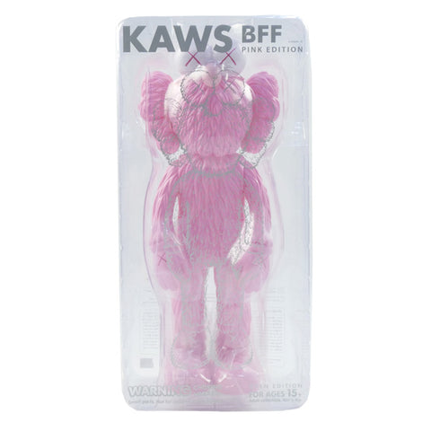 MEDICOM TOY  KAWS BFF OPEN EDITION PINK PVC Figure