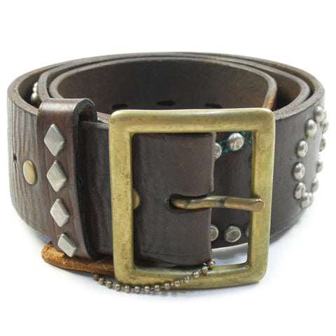TENDERLOIN T - STUD BELT GOD BLESS VINTAGE LEATHER