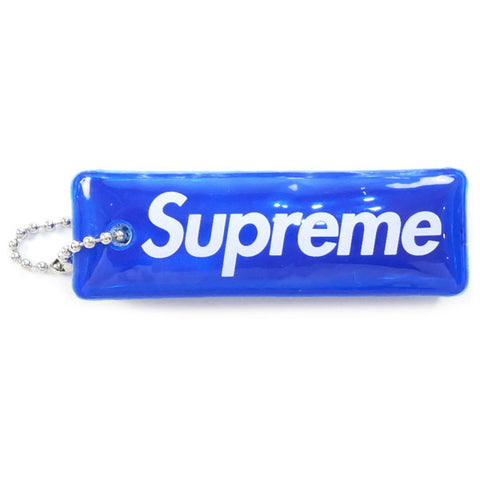 SUPREME 14 AW Reflective Puffy Keychain