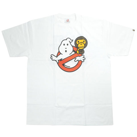 A BATHING APE  GHOSTBUSTERS 09 AW Sitting Mairo T-shirt