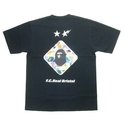 A BATHING APE  FCRB 19SS BACK EMBLEM TEE T-shirt