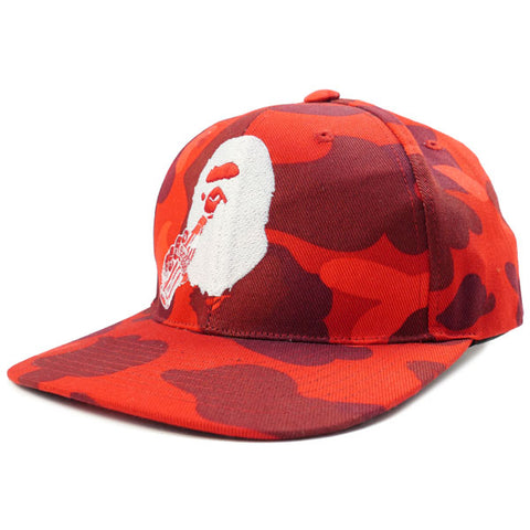 A BATHING APE  Coca-Cola 16 SS CAMO SNAP BACK CAP