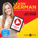 Learn German  - Audio-Course  No.1 - Easy Reader | Easy Listener