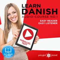 Learn Danish  - Audio-Course  No.1 - Easy Reader | Easy Listener