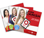 Learn Danish  - Complete Audio-Course  [No. 1, 2 & 3] - Easy Reader | Easy Listener
