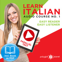 Learn Italian  - Audio-Course  No.1 - Easy Reader | Easy Listener