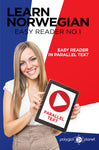 Learn Norwegian  - Easy Reader No.1 - Easy Reader in Parallel Text