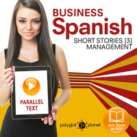 Business Spanish Audiobook - Parallel Text - Management [Audiobook + eBook] Part 3