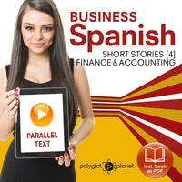 Business Spanish Audiobook - Parallel Text - Finance & Accounting [Audiobook + eBook] Part 4