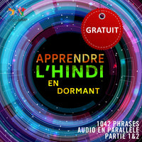 Hindi audio en parallèle - Facilement apprendre l'hindi avec 1042 phrases en audio en parallèle - Partie 1 & 2