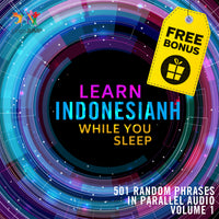 Indonesian Parallel Audio - Learn Indonesian with 501 Random Phrases using Parallel Audio - Volume 1