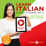 Learn Italian  - Audio-Course  No.3 - Easy Reader | Easy Listener