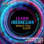 Learn Indonesian while you sleep - Volume 1