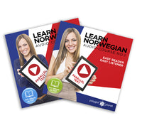 Learn Norwegian  - Complete Audio-Course [No. 1 & 2] - Easy Reader | Easy Listener