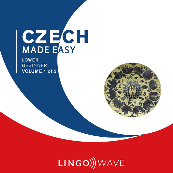 Czech Made Easy - Lower beginner - Volume 1-3