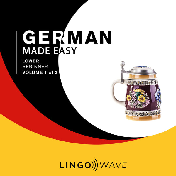 German Made Easy - Lower beginner - Volume 1-3