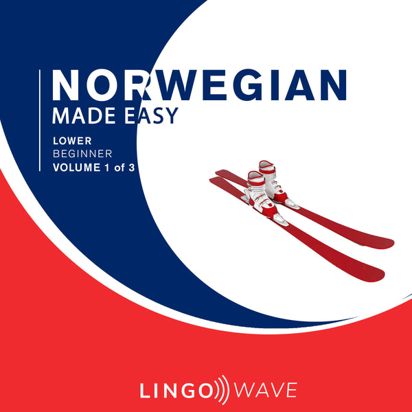 Norwegian Made Easy - Lower beginner - Volume 1-3