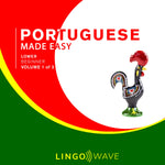 Portuguese Made Easy - Lower beginner - Volume 1-3