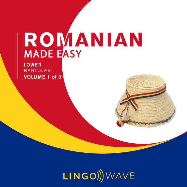 Romanian Made Easy - Lower beginner - Volume 1-3