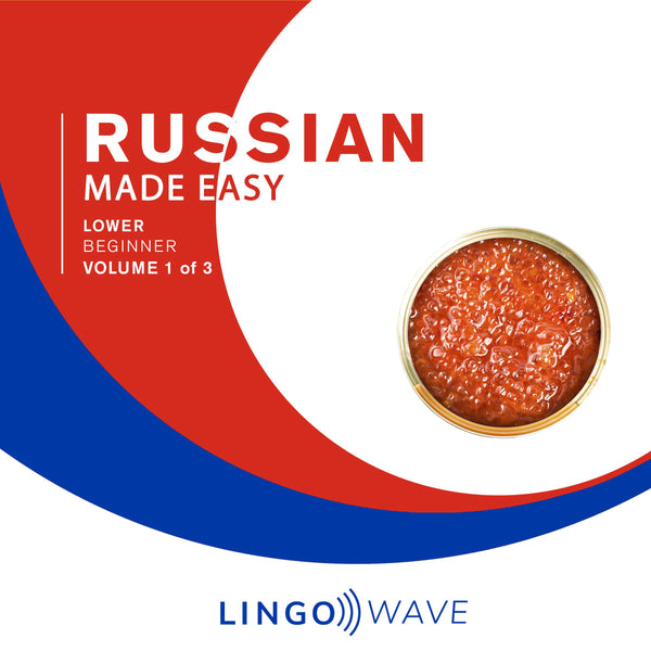 Russian Made Easy - Lower beginner - Volume 1-3
