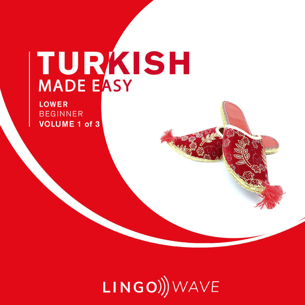 Turkish Made Easy - Lower beginner - Volume 1-3