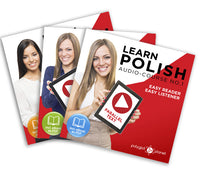 Learn Polish  - Complete Audio-Course [No. 1, 2 & 3] - Easy Reader | Easy Listener