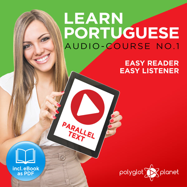 Learn Portuguese  - Audio-Course  No.1 - Easy Reader | Easy Listener