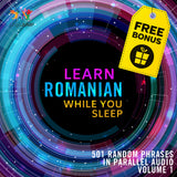 Romanian Parallel Audio - Learn Romanian with 501 Random Phrases using Parallel Audio - Volume 1