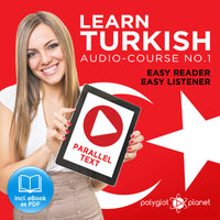 Learn Turkish  - Audio-Course  No.1 - Easy Reader | Easy Listener