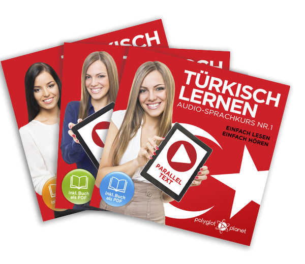 Türkisch Lernen: Einfach Lesen - Einfach Hören: Paralleltext [Türkisch Audio-Sprachkurs Nr. 1, 2 & 3] Der Türkisch Easy Reader - Easy Audio Sprachkurs